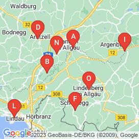 Standorte von Vollzeit Jobs in Opfenbach - Mai 2018