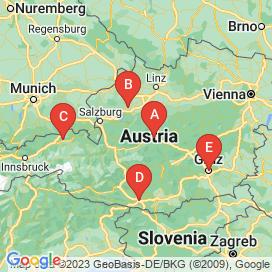 Standorte von Pflichtschule, Vollzeit und Handel Jobs  - Juli 2018