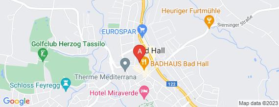 Standort von Backshop-Mitarbeiter/in (20Std./Woche) 4540 Bad Hall, Bahnhofplatz 3