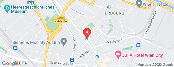 Standort von Auszubildende Hotelkauffrau / Hotelkaufmann