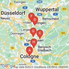 Standorte von Helfer Jobs in Leverkusen - Mai 2018
