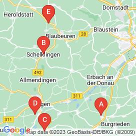 Standorte von Vollzeit Jobs in Allmendingen - Mai 2018