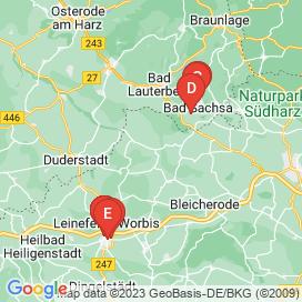 Standorte von Jobs in Großbodungen - August 2018