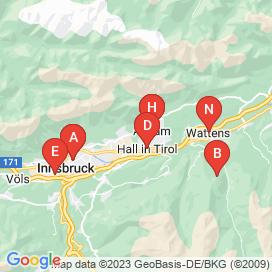 Standorte von Technik Jobs in Hall in Tirol - Juni 2018