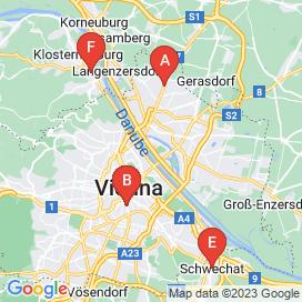 Standorte von Sozialarbeit Jobs in Wien - August 2018