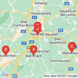 Standorte von 10+ Pflege Jobs in Wiener Neustadt - August 2018