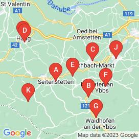 Standorte von Jobs in Seitenstetten - Juni 2018
