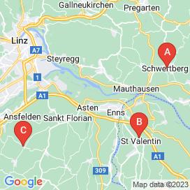 Standorte von Stapler Jobs in Enns - April 2018
