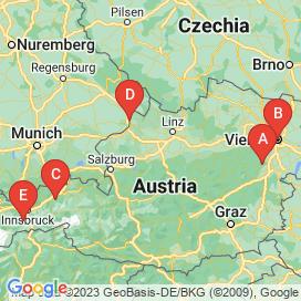 Standorte von LAN Jobs  - August 2018