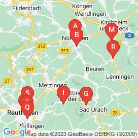 Standorte von Jobs in Bad Urach (Bad Urach) - Juni 2018
