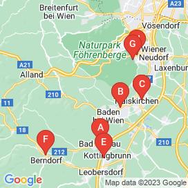 Standorte von Shop Jobs in Heiligenkreuz Im Wienerwald - August 2018