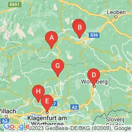 Standorte von Erzeugung Jobs in Gemeinde-Friesach - Juli 2018