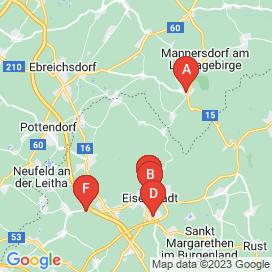 Standorte von Jobs in Gemeinde Oslip - Juni 2018