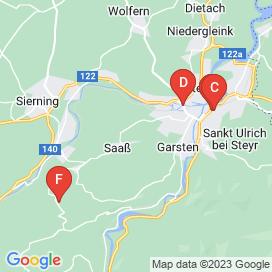 Standorte von Metallbau Jobs in Garsten - August 2018
