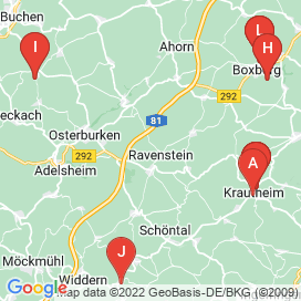 Standorte von 20+ Jobs in Ravenstein - August 2018