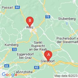 Standorte von CNC Jobs in Weiz - Juli 2018