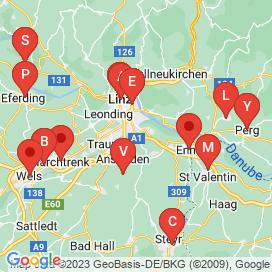 Standorte von Jobs in Alberndorf-in-der-Riedmark - Mai 2018