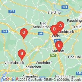 Standorte von Einkauf / Lager / Transport Jobs in Vöcklabruck - Mai 2018