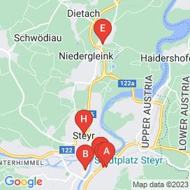 Standorte von Elektriker Jobs in Steyr - April 2018