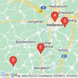 Standorte von Pflegefachkraft Jobs in Lauffen Am Neckar - Mai 2018
