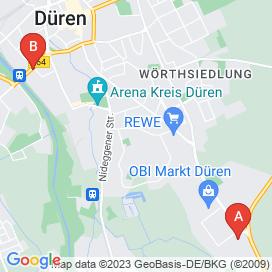 Standorte von Reinigung Jobs in Düren - August 2018