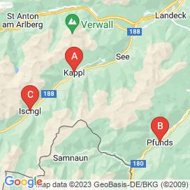 Standorte von Jobs in Samnaun - August 2018