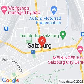 Standorte von Web Jobs in Salzburg - Juni 2018