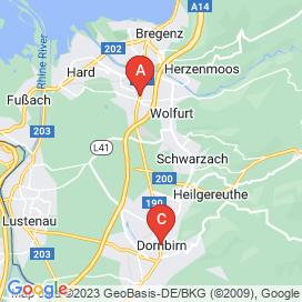 Standorte von Projekte Jobs in Diepoldsau - August 2018