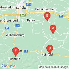 Standorte von Jobs in Sankt Veit an der Gölsen - August 2018