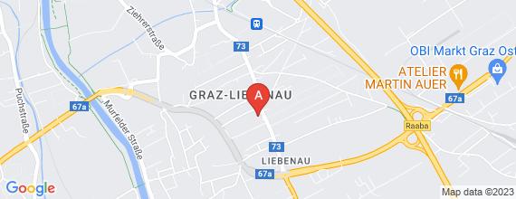 Standort von Backshop-Mitarbeiter/in  8041 Graz, Liebenauer Hauptstr. 164 (24 Std./Woche)