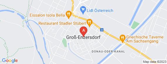 Standort von Service MitarbeiterInnen für Konditorei/Bäckerei