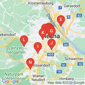 Standorte von Developer Jobs in Wien - April 2018