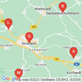 Standorte von Fachkraft Jobs in Kirchardt (Berwangen) - Juni 2018
