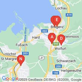 Standorte von Jobs in Hard (Bezirk Hard) - Juni 2018