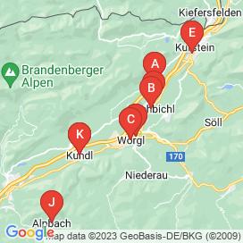 Standorte von Jobs in Wildschönau-Niederau - Juni 2018