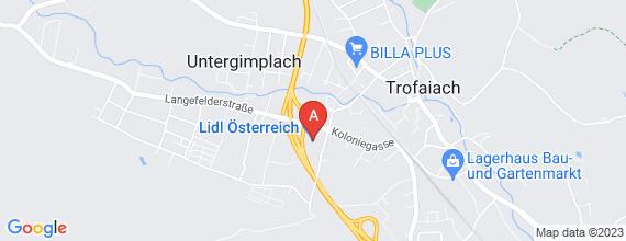Standort von Verkaufsmitarbeiter/in  (24 Std./Woche) 8793 Trofaiach, Langefelderstr. 1