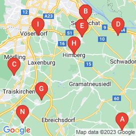 Standorte von Bereitschaft für Abend- und Nachtdienste Jobs in Moosbrunn - Mai 2018