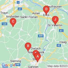 Standorte von Techniker Jobs in Dietach - Mai 2018