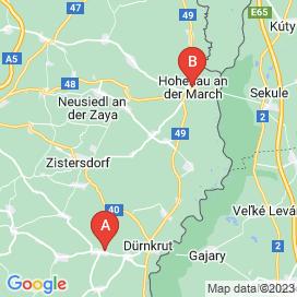 Standorte von Jobs in Palterndorf - August 2018