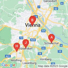 Standorte von Vollzeitmitarbeiter Jobs in Wien - Juni 2018