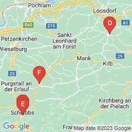 Standorte von Jobs in Gemeinde Texingtal - Juli 2018