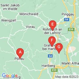 Standorte von Jobs in Vorau - August 2018