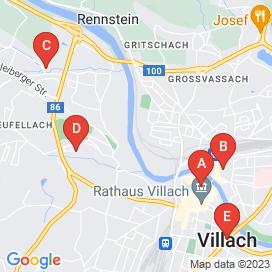 Standorte von Bau Jobs in Villach - August 2018