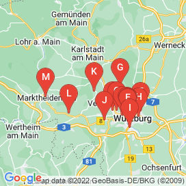 Standorte von Jobs in Leinach - Juni 2018