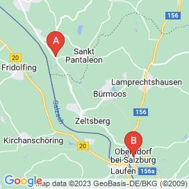 Standorte von Frau Jobs in Lamprechtshausen - Juli 2018