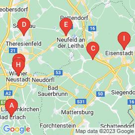 Standorte von 10+ Entwicklung Jobs in Pöttsching - August 2018
