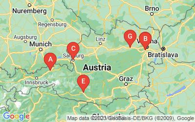 Standorte von FERCAM Austria GmbH