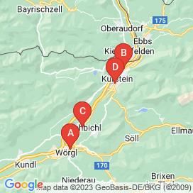 Standorte von Sales Jobs in Kirchbichl - Juni 2018