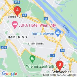 Standorte von Coaching Jobs in Wiener Neudorf - August 2018