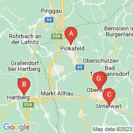 Standorte von Geringfügig Jobs in Pinkafeld - Juli 2018
